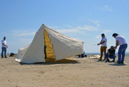 AAU Students Camping In Fujairah