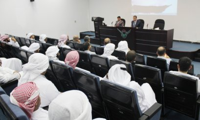 AAU organized a lecture about (Combat Discrimination and Hatred)