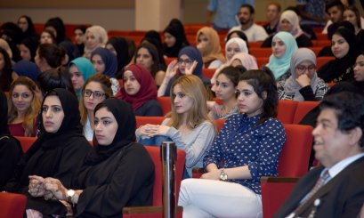 Welcoming Meeting for the freshmen students -Abu Dhabi Campus-