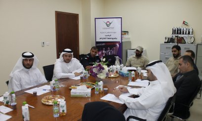 The Deanship of Student Affairs meets Abu Dhabi Police GHQ Departments