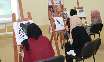 "Course in ""Expression Art"" at Al Ain University"