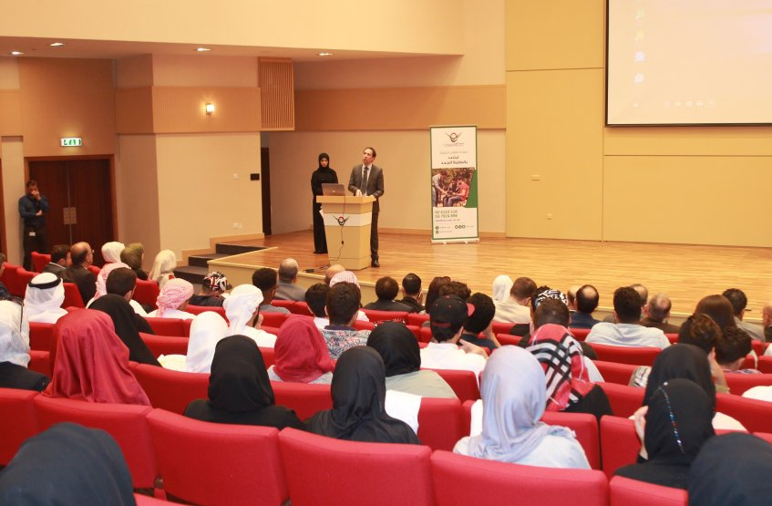 Excited Day for the Freshmen Students at AAU in Abu Dhabi Campus