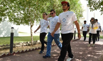 Walkathon and health events at AAU on the World Diabetes Day