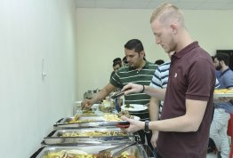 Ramadan Iftar for students