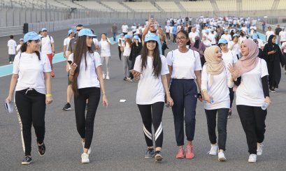"AAU participates in ""Walk 2018"""