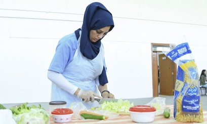 Healthy & Scrumptious Dishes Competition at AAU