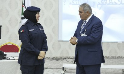 Al Ain University shows the Evidences of Crime Scene