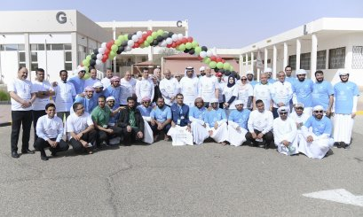 Salem bin Rakad participates with AAU in the National Sports Day activities