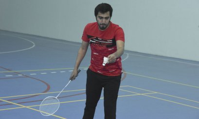 Enthusiastic atmosphere in the badminton championship